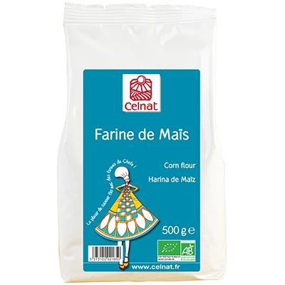 Farine de maïs BIO, Celnat (500 g)