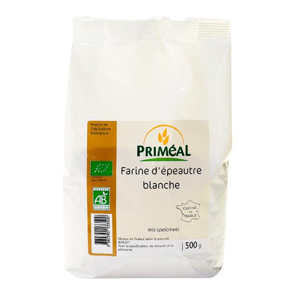 Farine d'épeautre blanche BIO, Priméal (500 g)