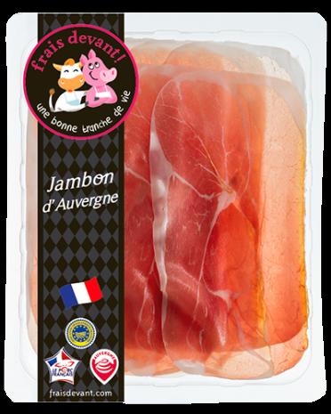 Jambon d'auvergne, Frais Devant (100 g)