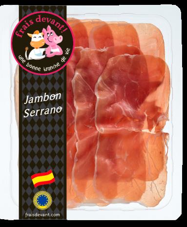 Jambon Serrano, Frais Devant (100 g)