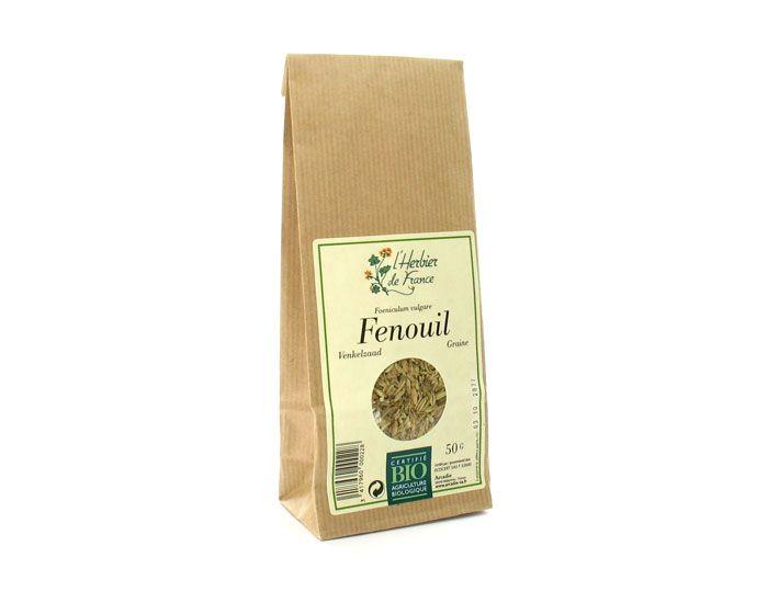 Fenouil en graine BIO, Herbier de France (50 g)