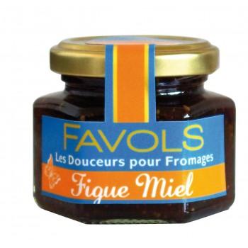 Confiture de figue et miel Favols (110 g)