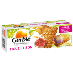 Biscuit Figue et Son, Gerblé (210 g)