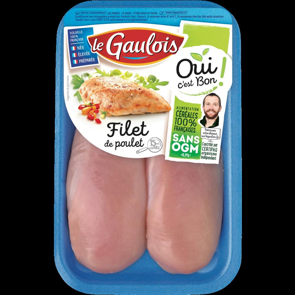 Filets de poulet, Le Gaulois (300 g)
