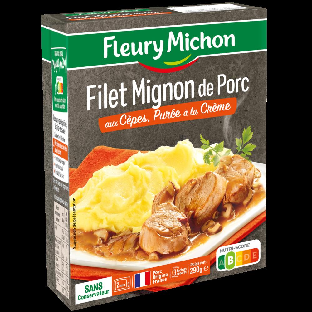 Filet mignon porc aux cèpes, Fleury Michon (290 g)