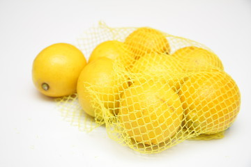 Citron jaune en filet It. BIO (500 g)