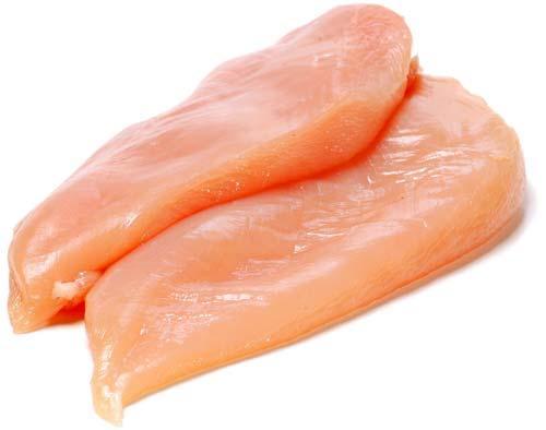 Filet de poulet (x 2, entre 450 et 499 g)