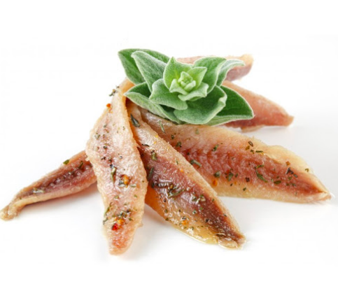 Filets d'anchois marinés à l'huile (200 g)