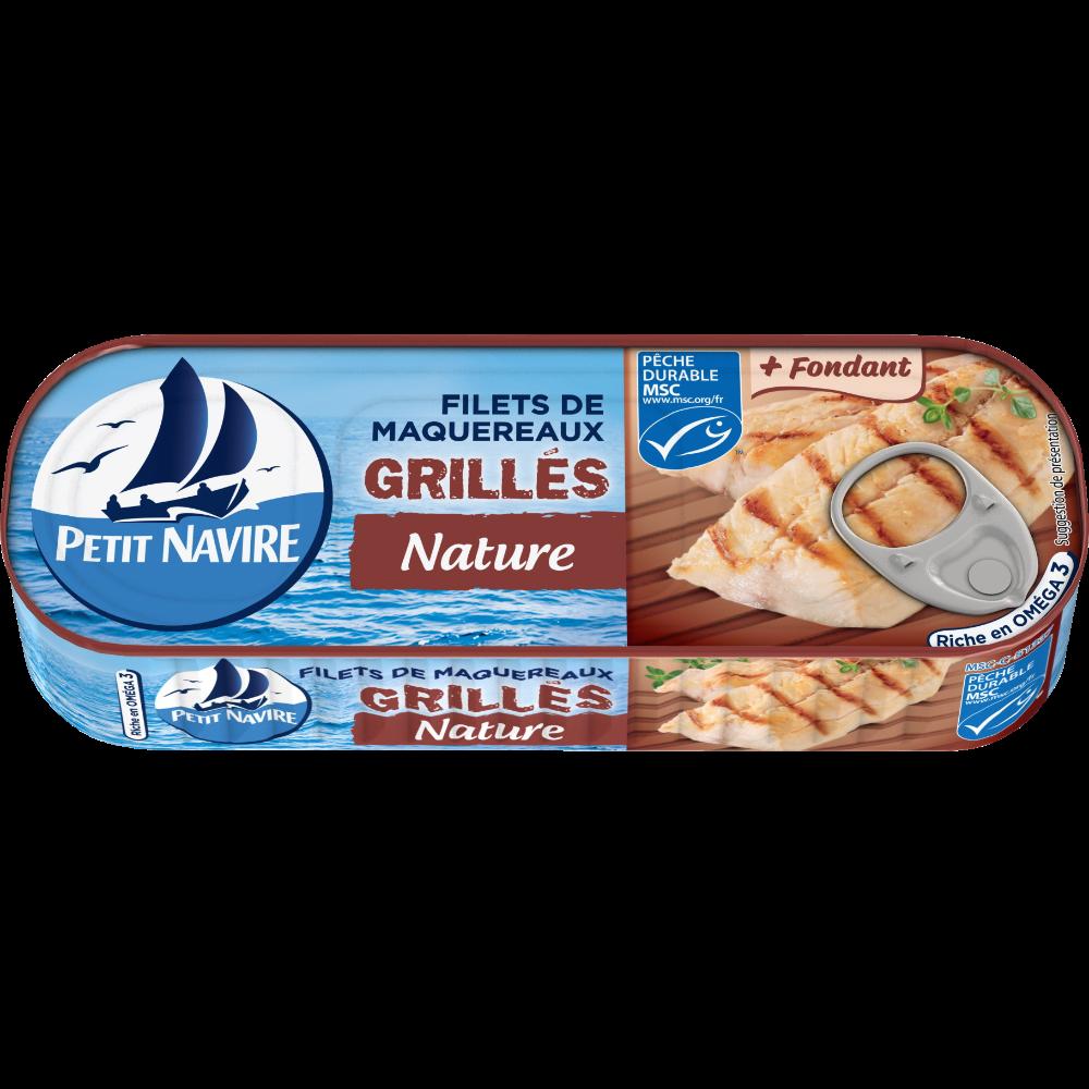 """Filets de maquereaux """"Le grillé"""", Petit Navire (110 g)"""