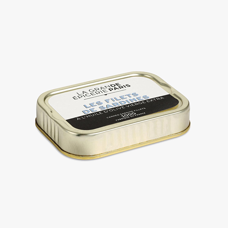 Filets de sardines à l'huile d'olive vierge extra, La Grande Epicerie de Paris (100 g)