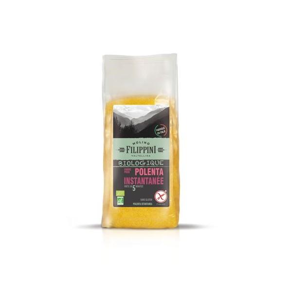Farine pour polenta instantanée BIO, Filippini (500 g)