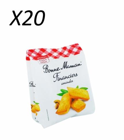 Financiers aux amandes, Bonne Maman (x 20)