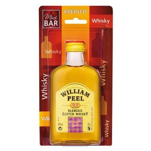 Whisky William Peel Flask 40° (20 cl)