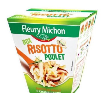 Box Risotto au poulet et champignons, Fleury Michon (300 g)
