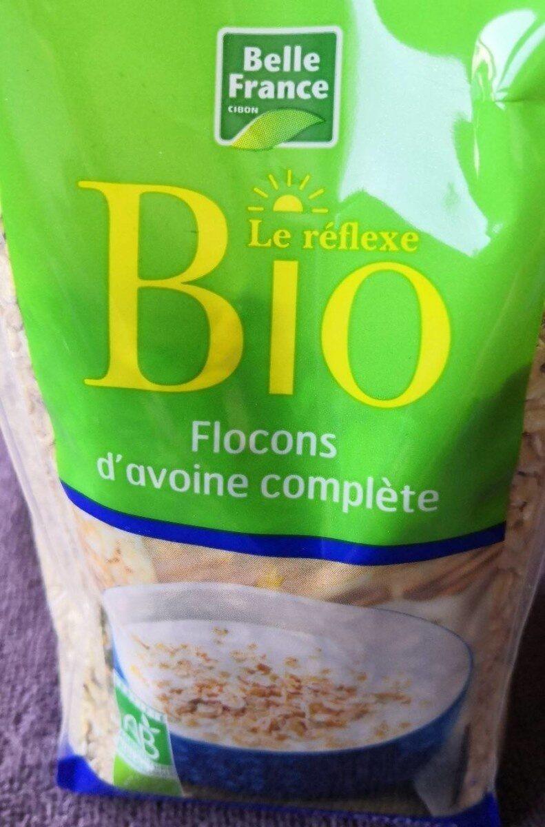 Flocons d'avoine BIO, Belle France (500 g)