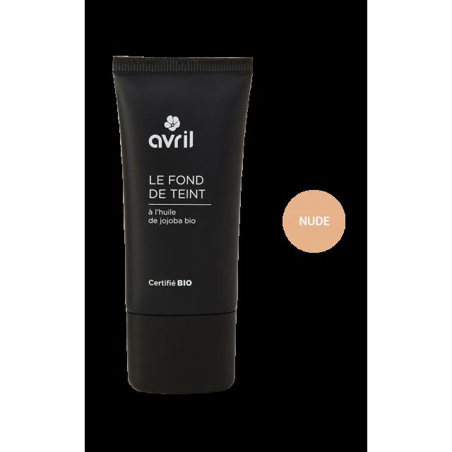 Fond de teint nude certifié BIO, Avril (30 ml)