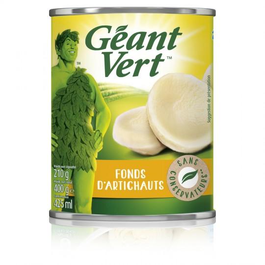 Fonds d'artichauts, Géant Vert (210 g)