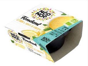 Fondant végétal BIO citron et pointe de curcuma sans gluten, Neo Noe (70 g)