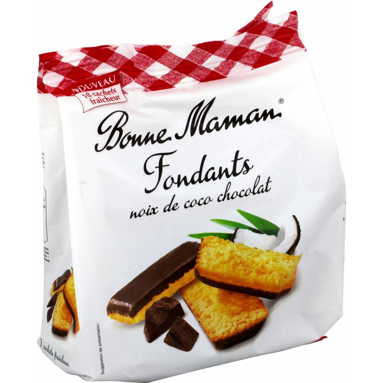 Fondant noix de coco et chocolat, Bonne Maman (250 g)