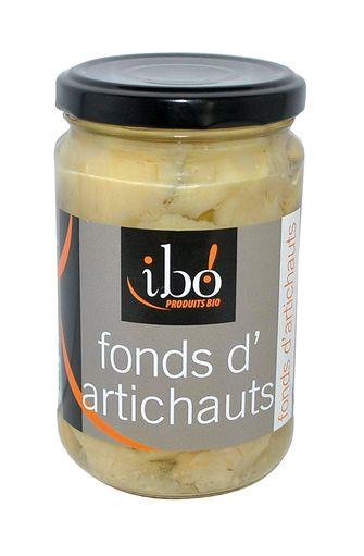Fonds d'artichauts BIO, Ibo (280 g)