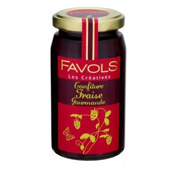 Confiture de fraise gourmande, Favols (250 g)