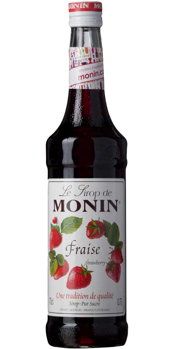 Sirop de fraise Monin (1 L)