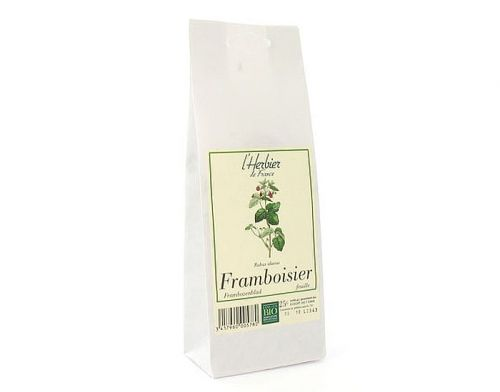 Feuilles de framboisier BIO, Herbier de France (50 g)