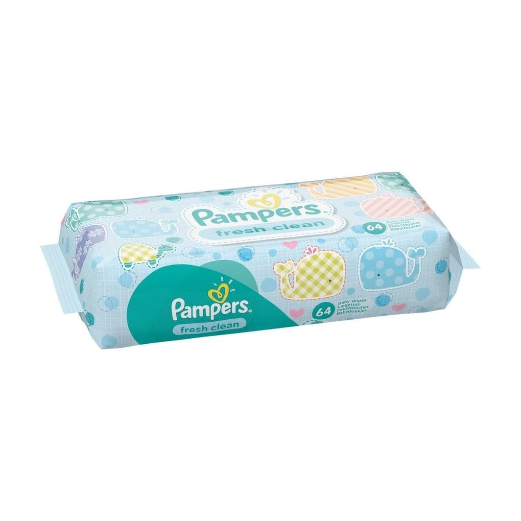 Lingettes Fresh Clean, Pampers (x 64)