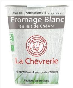 Fromage blanc au lait de chèvre BIO, La Chèvrerie (400 g)