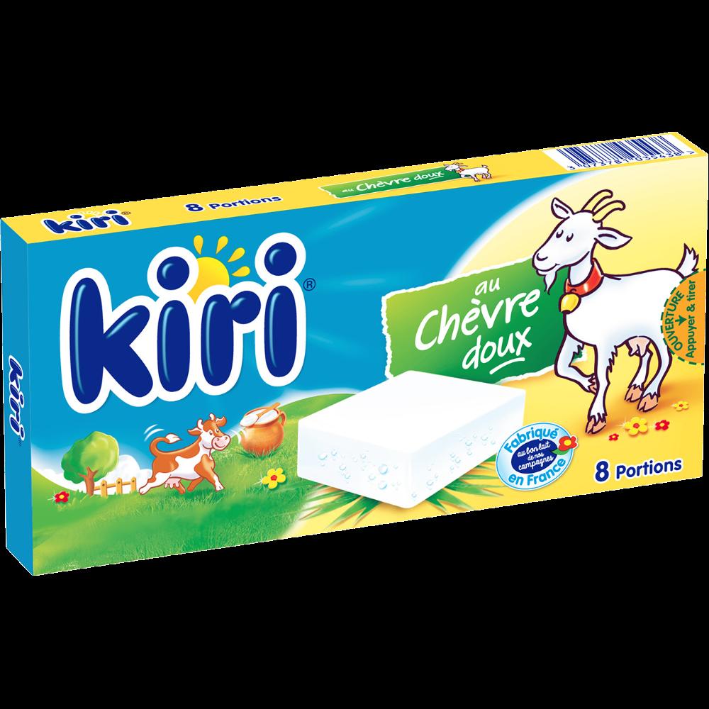 Kiri au chèvre doux (x 8 portions, 144 g)