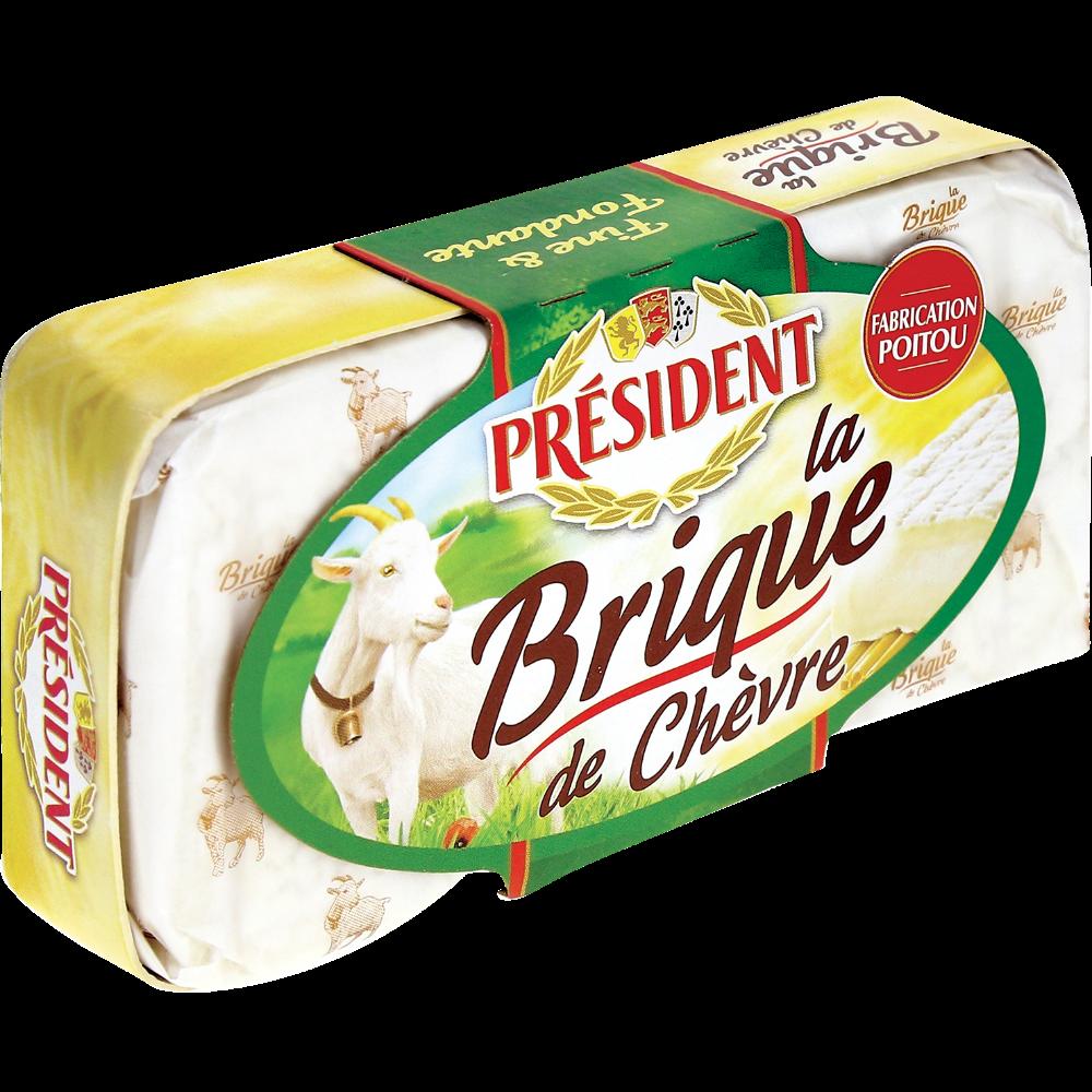 Brique de chèvre, Président (150 g)