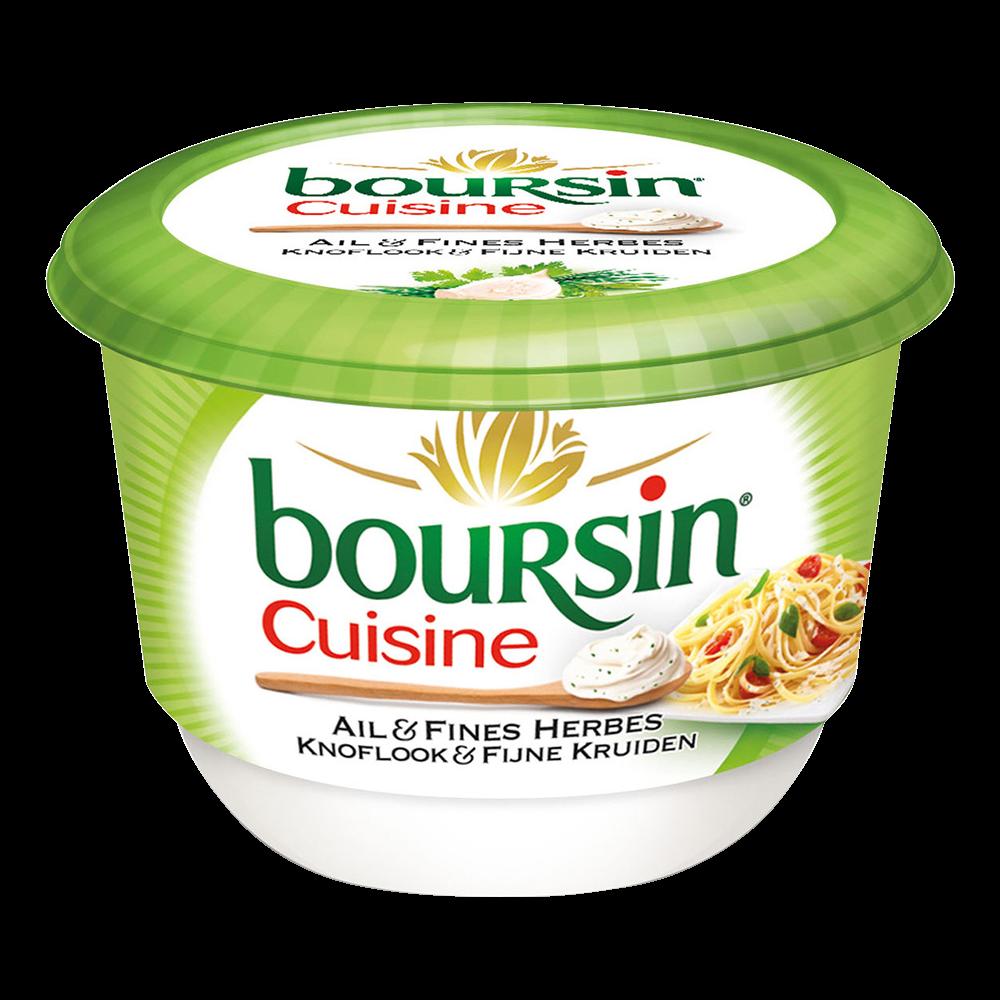 Boursin cuisine ail et fines herbes (240 g)