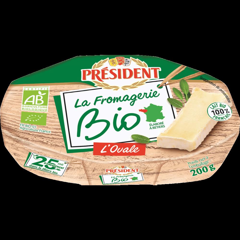L'ovale BIO, Président (200 g)