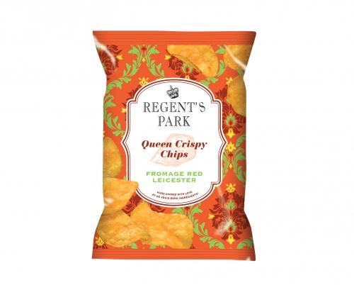 Chips au fromage Queen Crispy, Regent's Park (40 g)