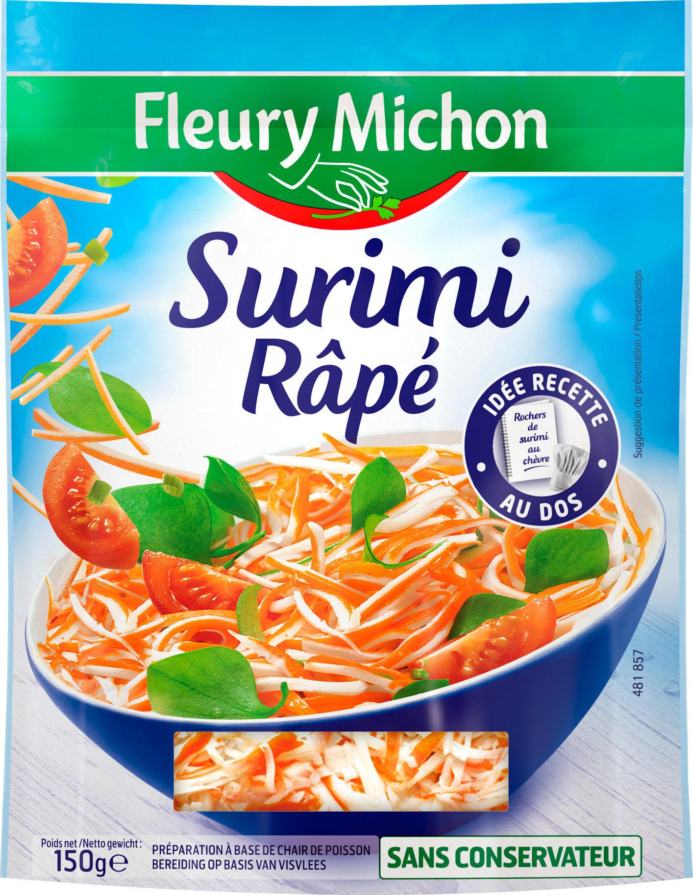 Surimi rapé, Fleury Michon (150 g)