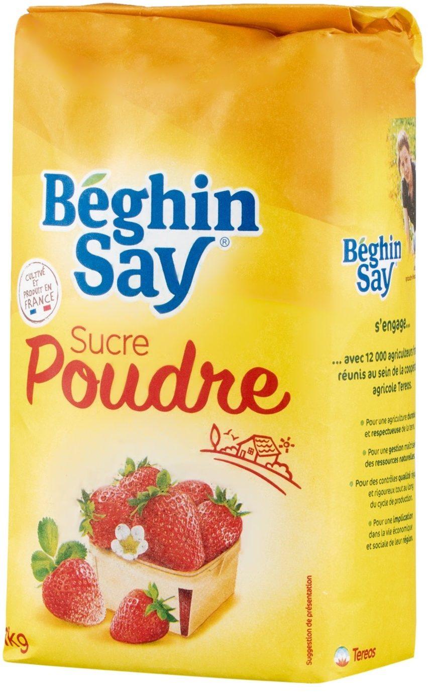 Sucre en poudre, Beghin Say  (1 kg)