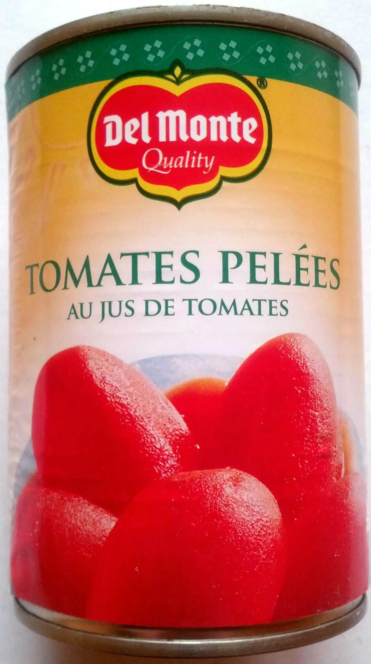 Tomates pelées au jus, Delmonte (400 g)