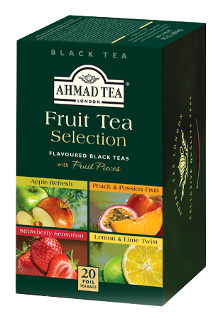 Thé aux fruits Selection, Ahmad Tea (x 20 sachets)