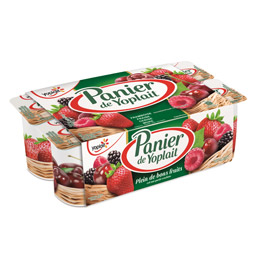 Yaourt aux fruits rouge, Panier de Yoplait (8 x 125 g)