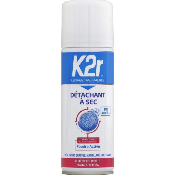 Détachant à sec en aérosol, K2R (200 ml)