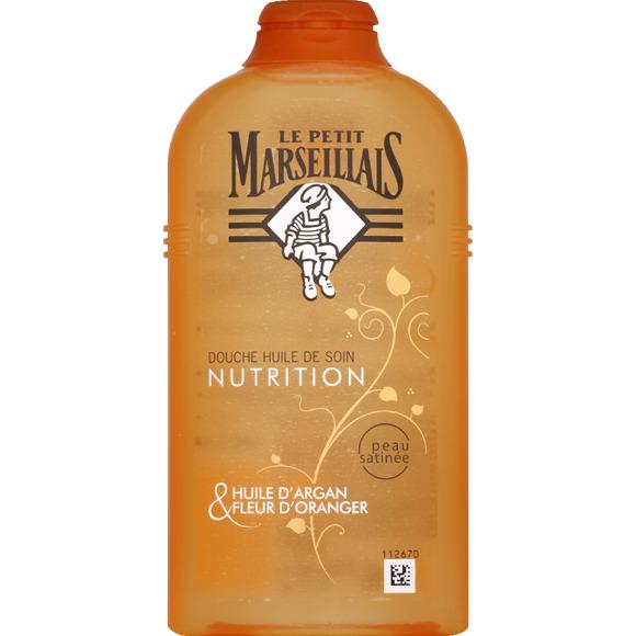 Huile de douche nourrissante à l'argan, Le Petit Marseillais (250 ml)