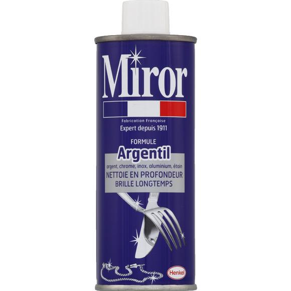 Nettoyant argentil, Miror (250 ml)