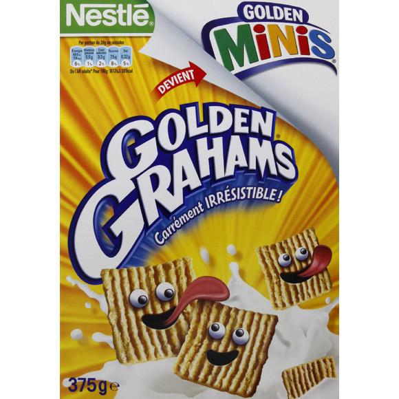 Céréales Golden Mini Grahams, Nestlé (375 g)
