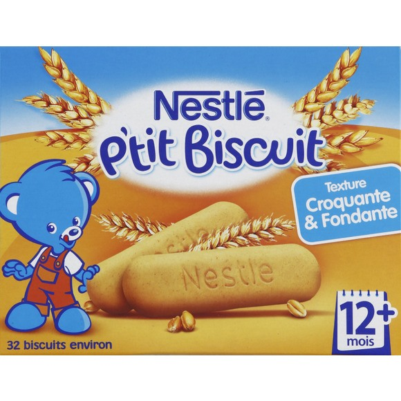 P'tit biscuit - 12 mois, Nestle (180 g)