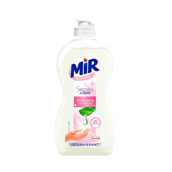 Liquide vaisselle à l'aloe vera, Mir (500 ml)