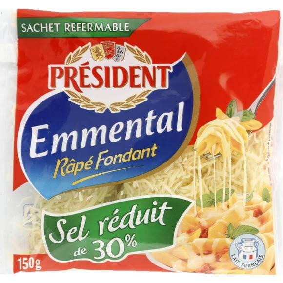 Emmental rapé, Président (150 g)