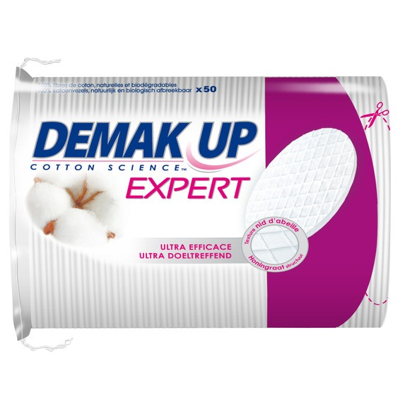 Disques de coton expert à démaquiller, Demak'up (x 50)
