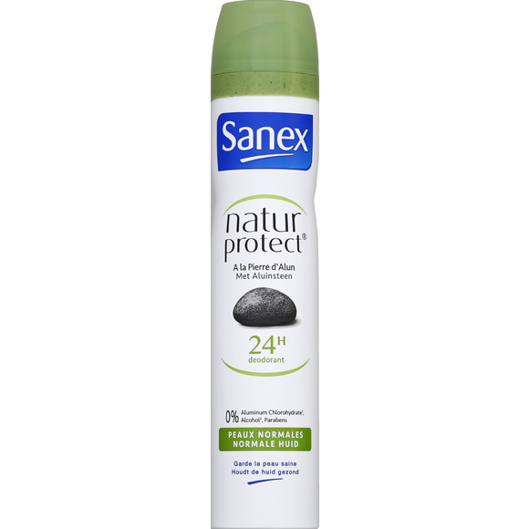 Déodorant spray nature protect' Peaux Normales, Sanex (200 ml)