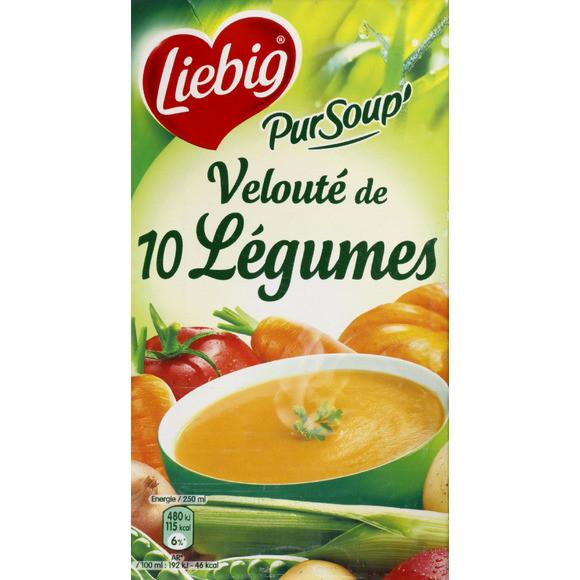 Velouté de 10 légumes PurSoup', Liebig (1 L)
