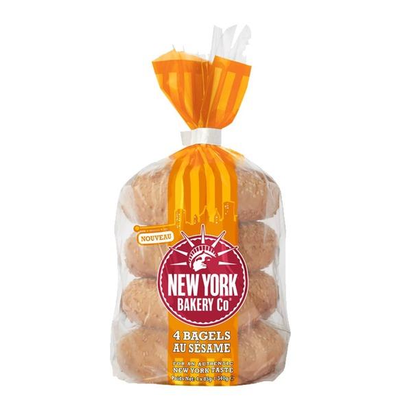 Bagel au sésame, New York Bakery (340g)
